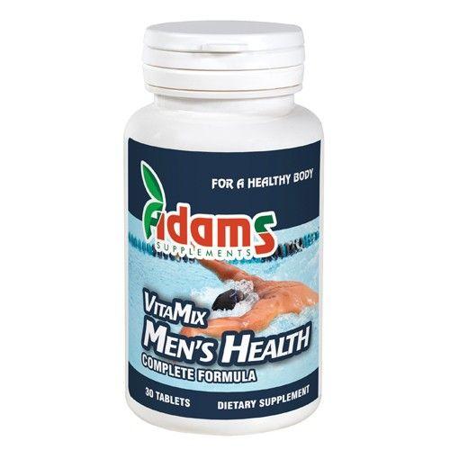 Multivitamina VitaMix Barbati, 30 tablete, Adams Vision 0