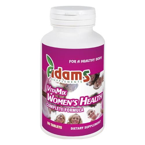 Complex vitamix femei, 90 comprimate, Adams Vision 0