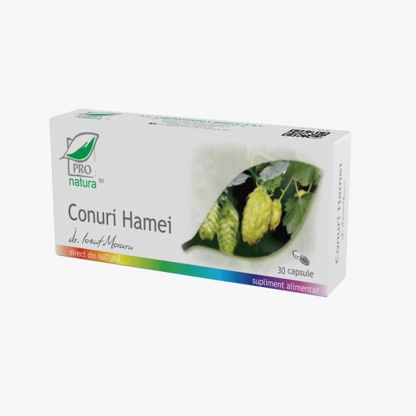 Conuri Hamei, 30 capsule, Medica [0]