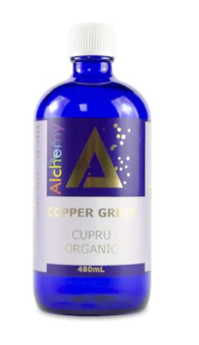 Copper Green, Pure Alchemy, cupru ionic organic, 480mL, Aghoras Invent 0