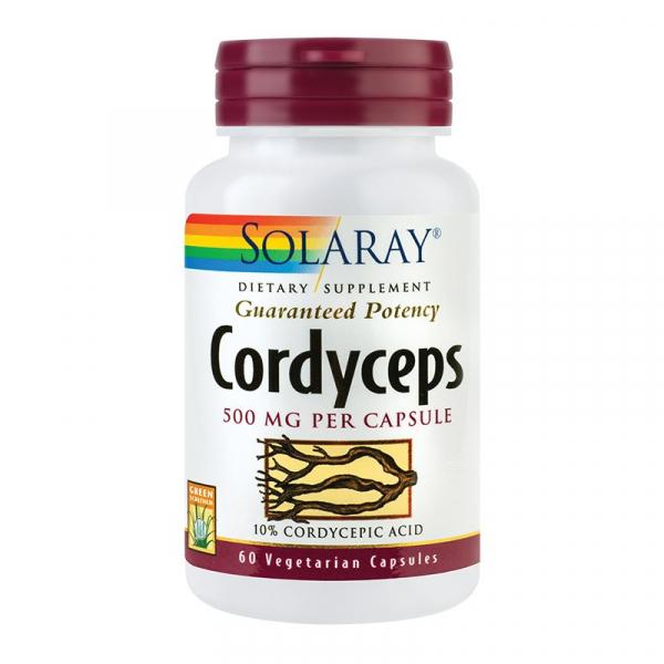 Cordyceps Solaray, 60 capsule, Secom 0