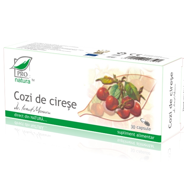 Cozi de cirese, 30 capsule, Medica 0