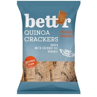 Crackers cu quinoa si boia fara gluten eco 100g Bettr 0