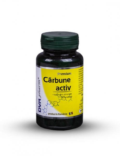 Cărbune activ, 60 capsule, DVR Pharm 0