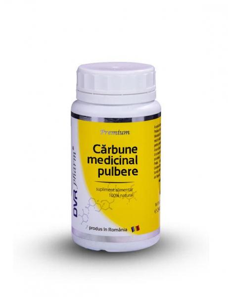 Cărbune medicinal pulbere, 200g, DVR Pharm 0