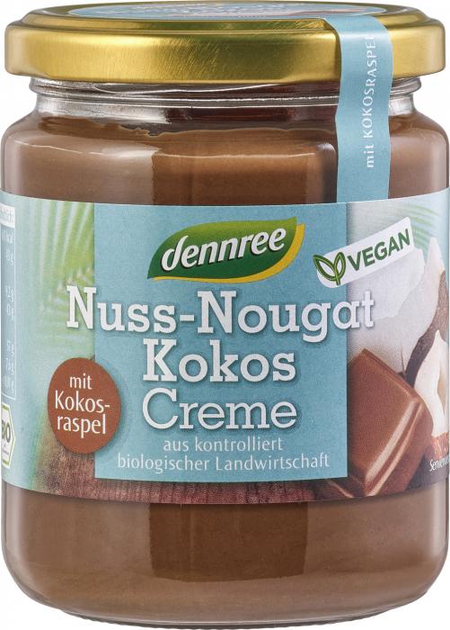 Crema bio nuss-nougat cu cocos VEGANA [0]