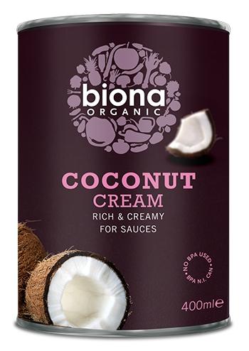 Crema de cocos eco cutie 400ml BIONA 0