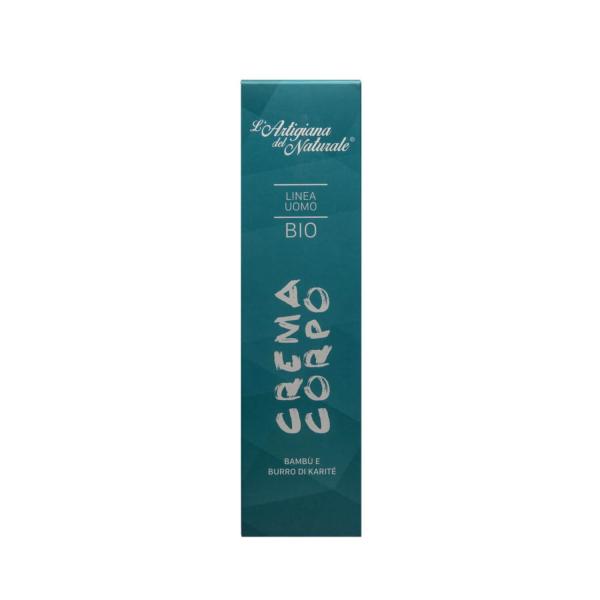 Crema de corp BIO pentru barbati, Laboratorio Naturale, 200 ml 2