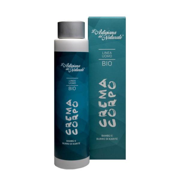 Crema de corp BIO pentru barbati, Laboratorio Naturale, 200 ml 1