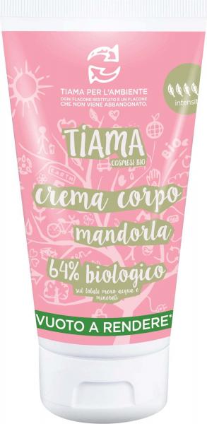 Crema de corp cu migdale bio 150ml Tiama 0
