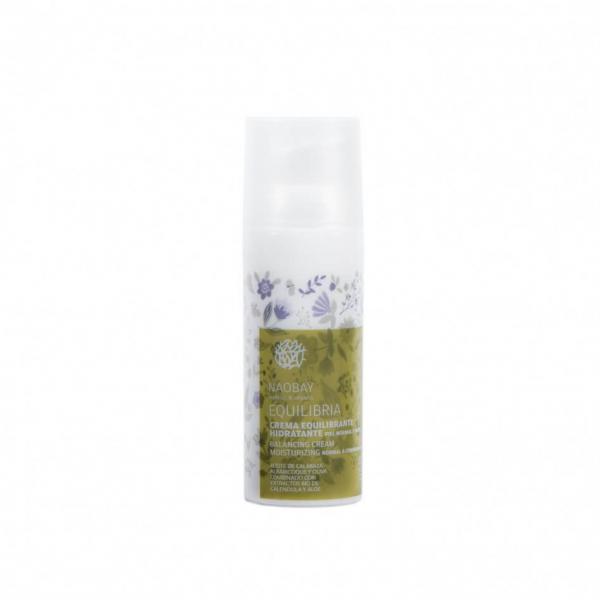 Crema de fata BIO revitalizanta cu extract de acai pentru ten normal si mixt, Equilibria, Naobay, 50 ml 0