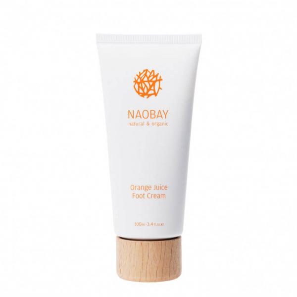 Crema hidratanta BIO pentru picioare cu extracte de unt de Shea si portocale, Orange Juice, Naobay, 100 ml [0]
