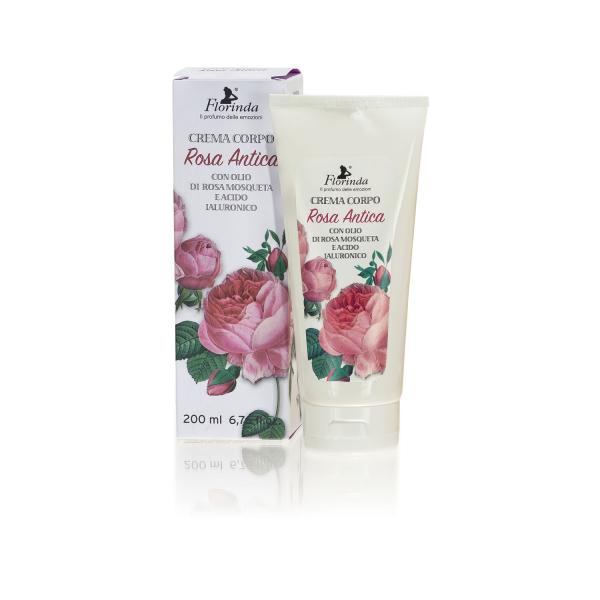 Crema hidratanta de corp LA DISPENSA Rosa Antica, 200ml 0