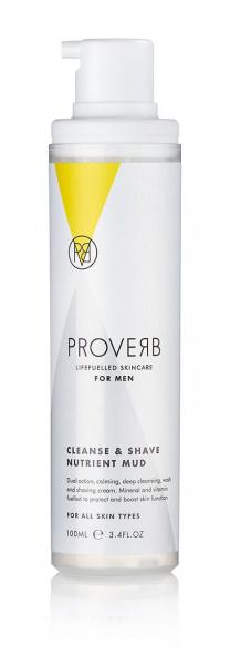 Crema nutritiva pentru barbierit si curatare, 100ml, Proverb [1]