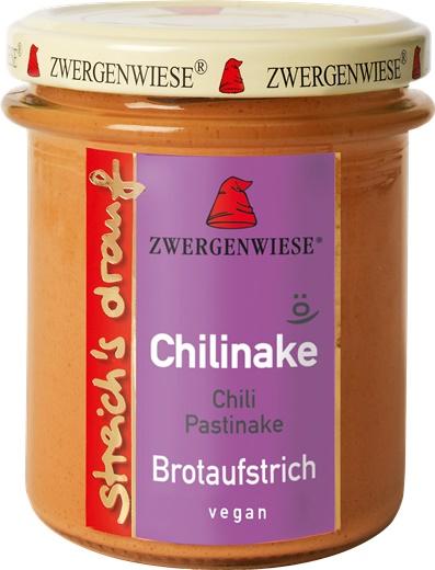 Crema tartinabila bio vegetala Chilinake cu chili si pastarnac 0