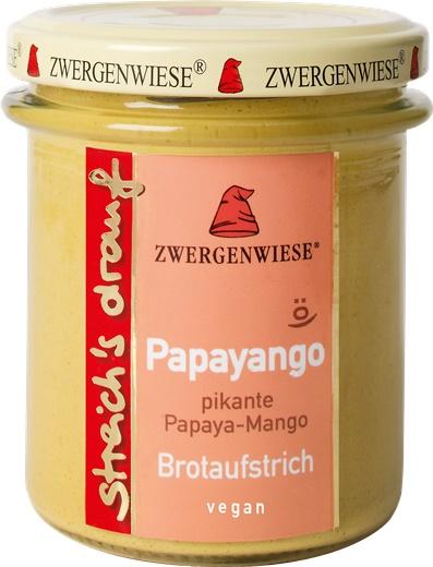 Crema tartinabila vegetala Papayango cu papaya picanta si mango [0]