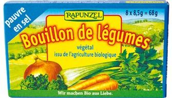 Cuburi de supă de legume cu puţină sare 0