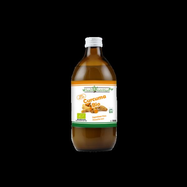 Suc de curcuma 100% Pur, Bio, 500ml 0