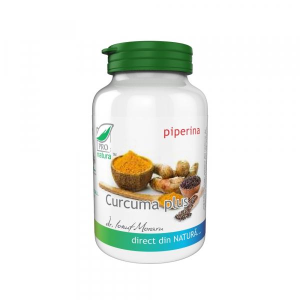 Curcuma plus, 60 capsule, Medica 0