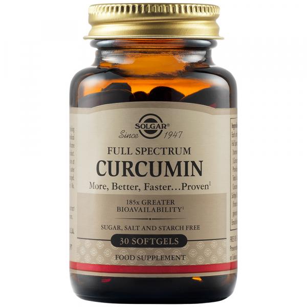 Curcumin Full Spectrum 30 capsule moi Solgar 0