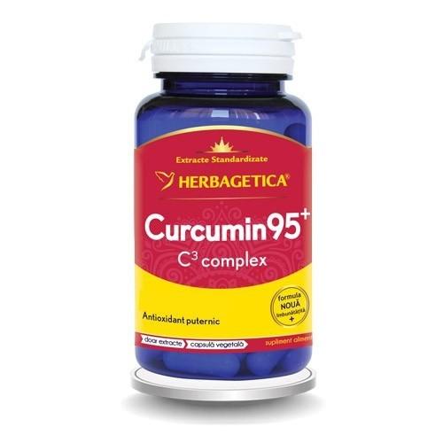 Curcumin95+ c3 complex, 60 capsule, Herbagetica 0