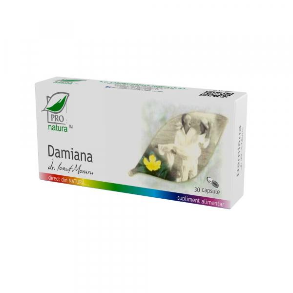 Damiana, 30 capsule, Medica 0