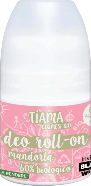 Deodorant roll-on cu migdale bio 50ml Tiama 0