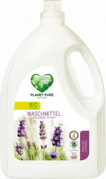 Detergent bio de rufe - lavanda - 3 L Planet Pure 0