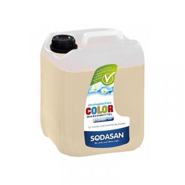 Detergent bio lichid rufe albe si color lavanda 5l Sodasan 0