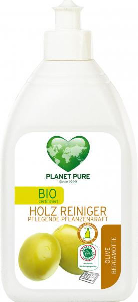 Detergent bio pentru lemn - masline si bergamota - 510ml Planet Pure 0