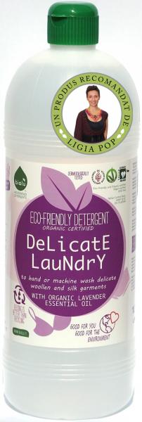 Biolu detergent ecologic pentru rufe delicate 1L 0