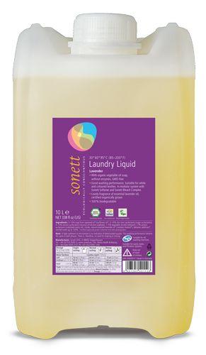 Detergent ecologic lichid pt. rufe albe si colorate cu lavanda 10L, Sonett 0