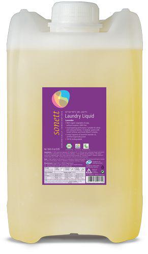 Detergent ecologic lichid pt. rufe albe si colorate cu lavanda 20L, Sonett 0