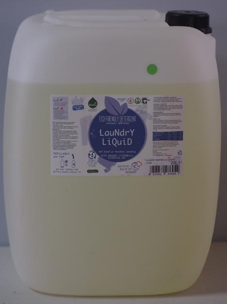 Detergent ecologic lichid vrac pentru rufe albe si colorate lamaie 20L 0