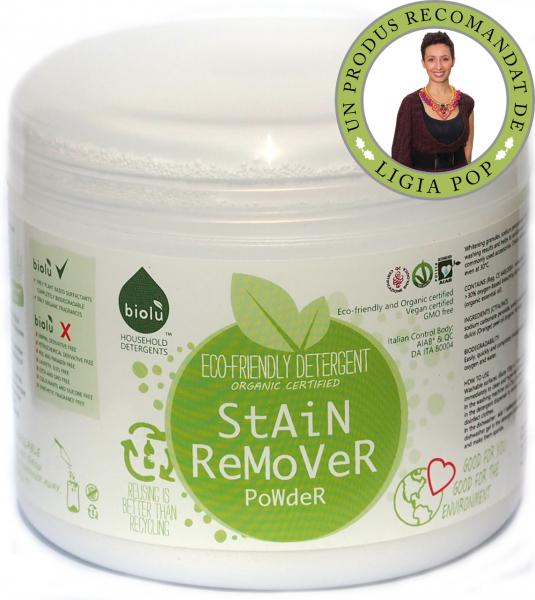 Detergent ecologic pentru indepartat pete pudra 1100g 0
