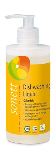 Detergent ecologic pt. spalat vase - galbenele, Sonett 300ml 0