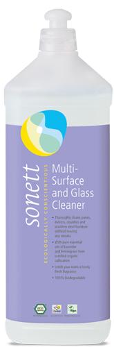 Detergent ecologic pt. sticla si alte suprafete 1L Sonett 0