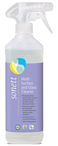 Detergent ecologic pt. sticla si alte suprafete 500ml Sonett 0