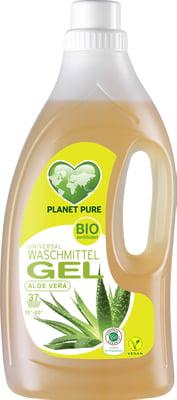 Detergent Gel bio pentru rufe - aloe vera - 1.5L Planet Pure 0