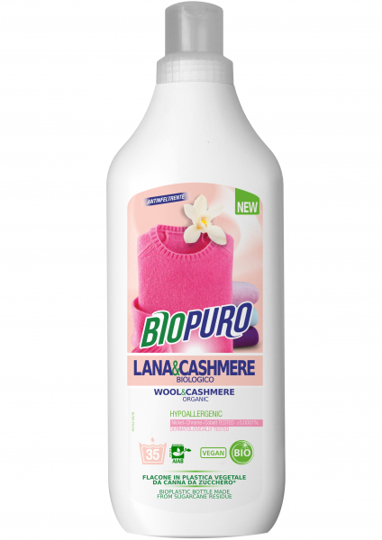 Detergent hipoalergen pentru lana, matase si casmir bio 1 L 0
