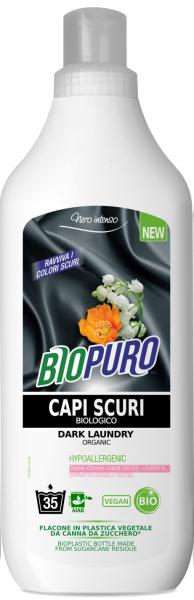 Detergent hipoalergen pentru rufe negre bio 1000ml 0
