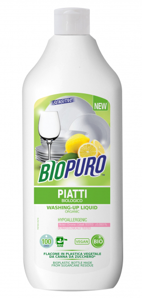 Detergent hipoalergen pentru vase bio 500ml 0