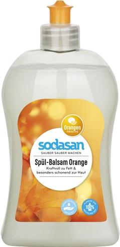 Detergent lichid de vase balsam cu portocala 0