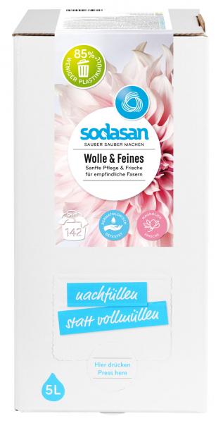 Detergent lichid pentru lana si rufe delicate Bag-in-Box [0]