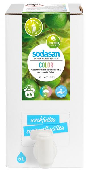 Detergent lichid pentru rufe colorate organic 0