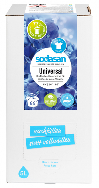 Detergent lichid universal cu limeta Bag-in-Box 0
