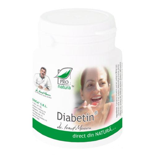 Diabetin, 150 capsule, Medica 0