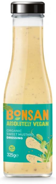 Dressing cu mustar dulce bio 310ml Bonsan 0