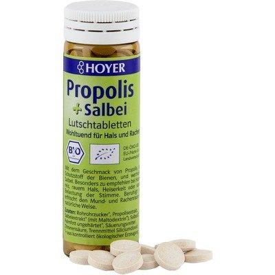 Dropsuri cu propolis si salvie eco 60 buc HOYER 0
