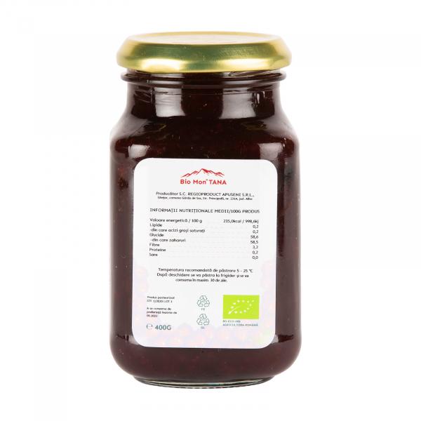 Dulceata ecologica de merisoare, 400 gr, Bio MonTANA 1